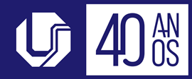 Logotipo da Universidade Federal de Uberlândia - UFU 40 Anos